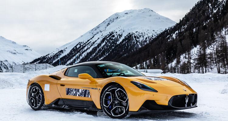 Maserati-MC20-Cold-Test-Livigno-1