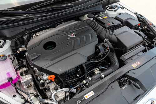 2022-Hyundai-Elantra-N-engine