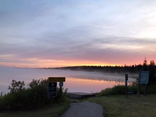 Sunrise-at-Moon-Lake-Manitoba