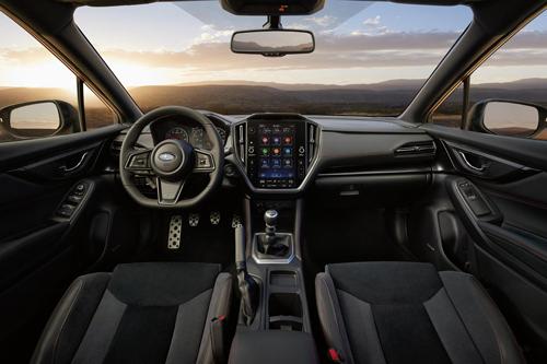2022-Subaru-WRX-interior