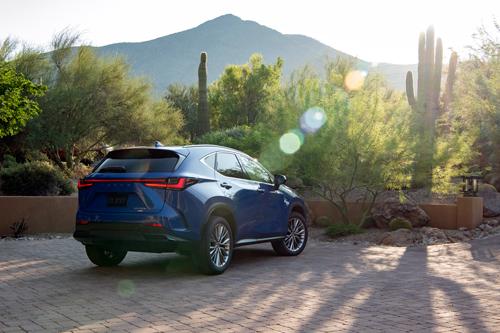 2022-Lexus-NX-350h-rear